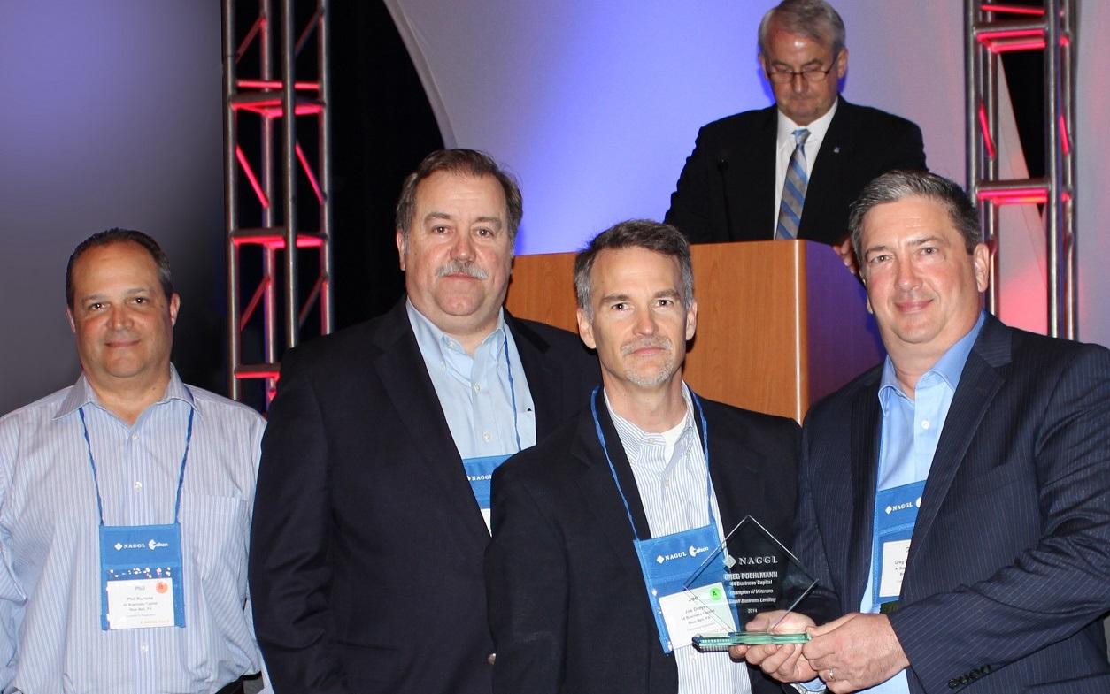 Champion of Veterans Award - NAGGL at San Antonio, TX mid-year conference.